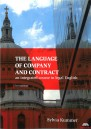 The Language of Company and Contract + CD